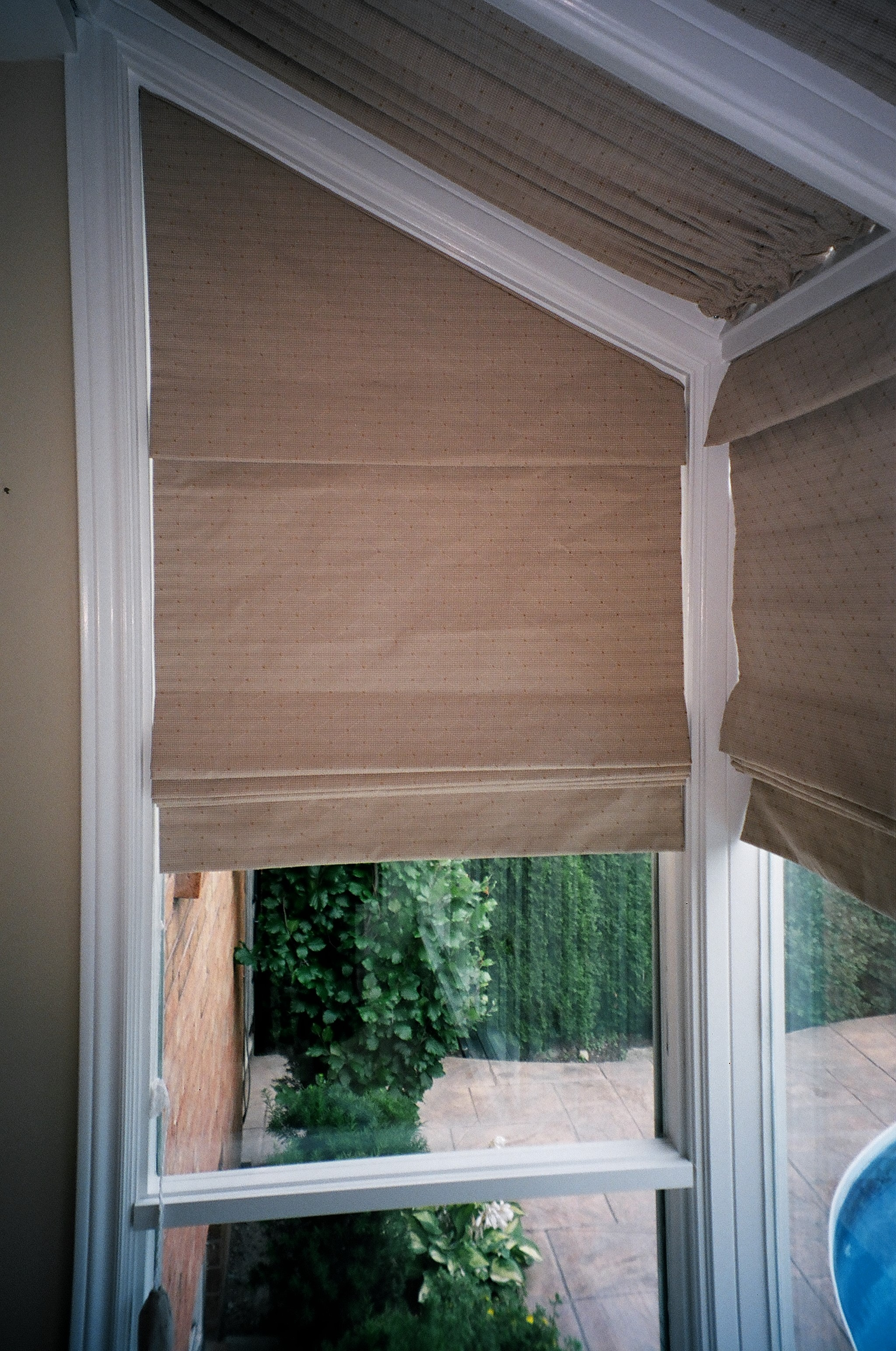 roman window woven shade valance pdx heights reviews paper cane treatments rosecliff wayfair