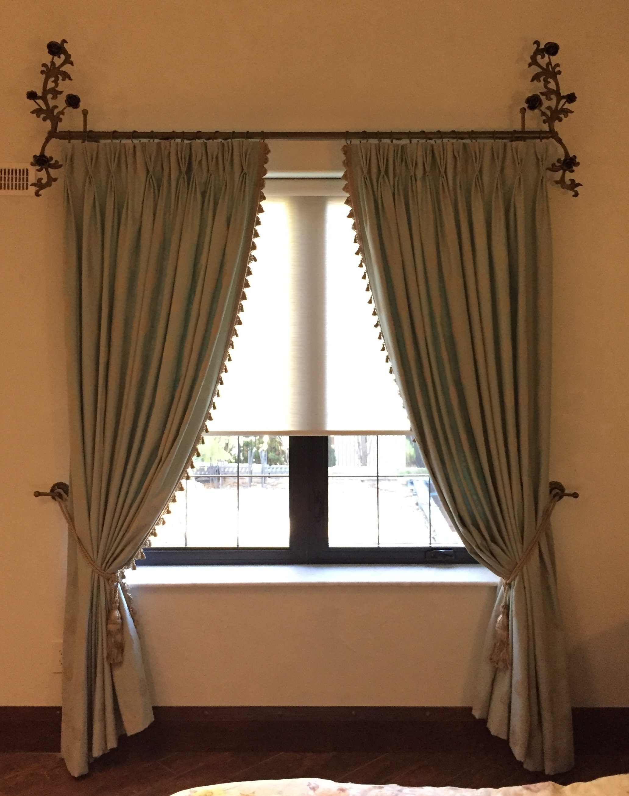 Curtains and Side Panels - Savalan Window Decor for Roller Pleat Curtains  56bof