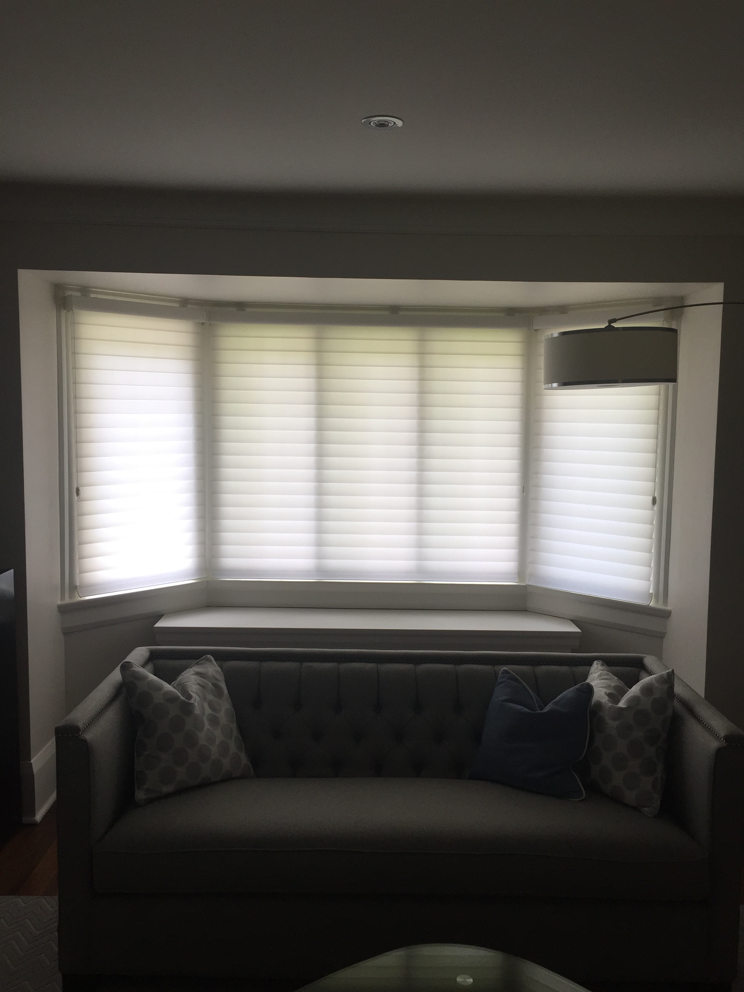 shades savalan closed on bay blinds sheer silhouette down a decor window img horizontals and