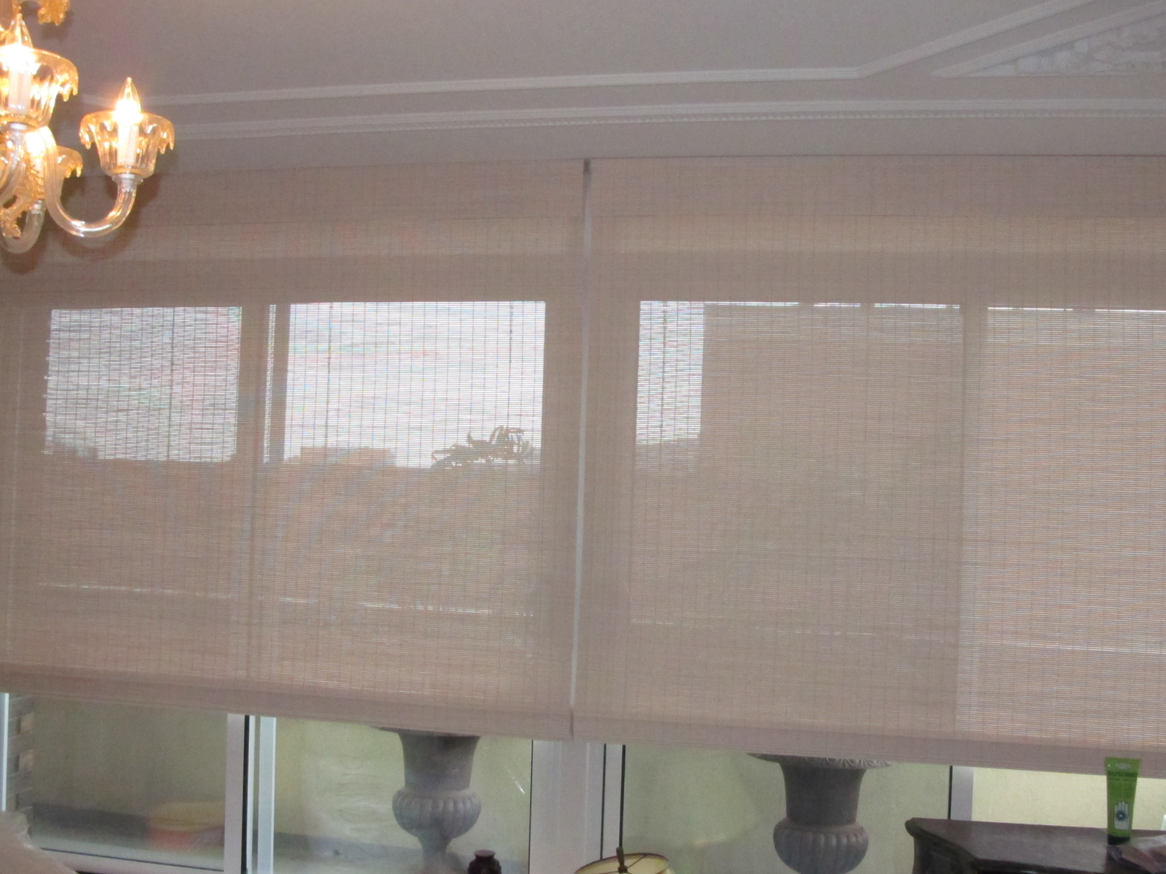 img of family gallery pirouette treatments custom blinds home motorized motorization shades room roller window lower