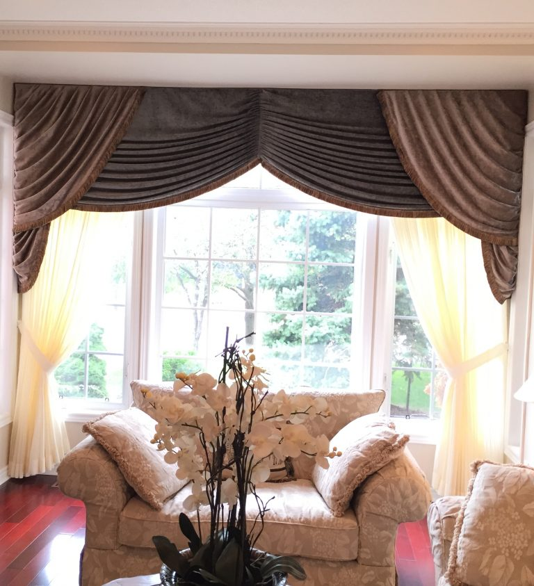 Swags Valance Top Treatment Drapers Drapery